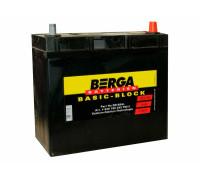 Аккумулятор Berga 45 апмер тонкая клемма, Обратная (- +) полярность (BB-B24L)