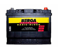 Аккумулятор Berga 68 апмер , Обратная (- +) полярность (BB-D26L)