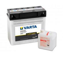 Аккумулятор Varta 18 апмер + электролит, Обратная (- +) полярность (518014015)