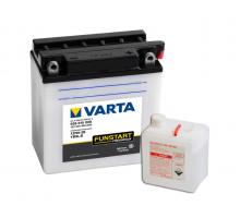 Аккумулятор Varta 9 апмер + электролит, Обратная (- +) полярность (509015008)