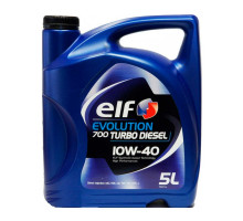 Моторное масло Elf Evolution 700 Turbo Diesel 10w40, 5 л (DAM0011)