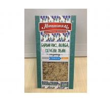 Гарнир Националь бурый рис / полба / семена льна, в упаковке 250 грамм