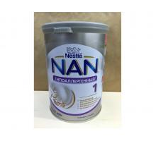 Молочная смесь Nestle NAN Гипоаллергенный 1, С рождения, 400 грамм