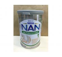 Молочная смесь Nestle NAN Кисломолочный 1, С рождения, 400 грамм