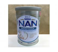 Молочная смесь Nestle NAN Безлактозный, С рождения, 400 грамм