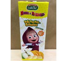 Нектар Маленькое счастье Яблоко/банан, С 6 месяцев, 200 грамм