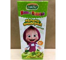 Нектар Маленькое счастье Яблоко/виноград, С 6 месяцев, 200 грамм