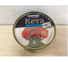 Кета Главпродукт натуральная, 240 грамм
