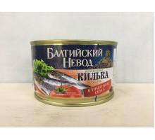 Килька Балтийский невод балтийская неразделанная в томатном соусе, 240 грамм