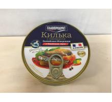 Килька Главпродукт в томатном соусе с овощами по-французки, 230 грамм