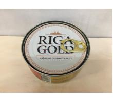 Лосось Riga Gold атлантическая в горчичном соусе, 230 грамм