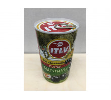 Маслины ITLV Super без косточки, 370 грамм
