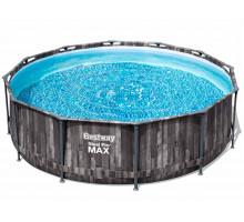 Каркасный бассейн Bestway Steel Pro Max Круглый 366x366x100 мм (5614X)