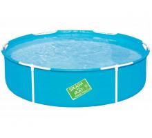 Каркасный бассейн Bestway My First Pool Круглый 152x152x38 мм (56283)