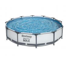 Каркасный бассейн Bestway Steel Pro Max Круглый 366x366x76 мм (56416)