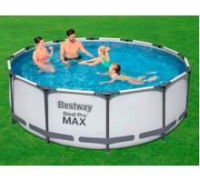 Каркасный бассейн Bestway Steel Pro Max Круглый 366x366x100 мм (56418)