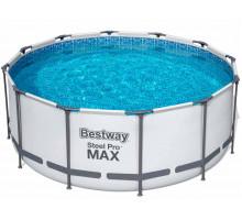Каркасный бассейн Bestway Steel Pro Max Круглый 366x366x122 мм (56420)