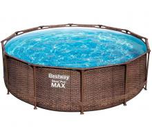 Каркасный бассейн Bestway Steel Pro Max Круглый 366x366x100 мм (56709)