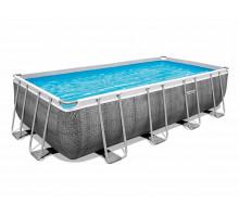 Каркасный бассейн Bestway Power Steel Прямоугольный 488x244x122 мм (56996)