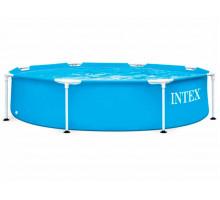 Каркасный бассейн Intex Metal Frame Круглый 244x244x51 мм (28205)
