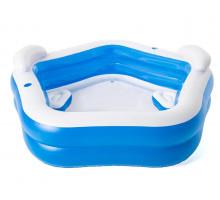 Надувной бассейн Bestway  Круглый 213x206x69 мм (54153)