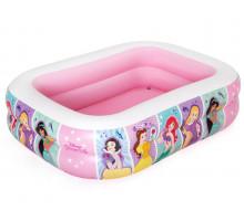 Надувной бассейн Bestway Disney Princess Прямоугольный 201x150x51 мм (91056)