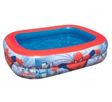 Надувной бассейн Bestway Spider-Man Прямоугольный 201x150x51 мм (98011)